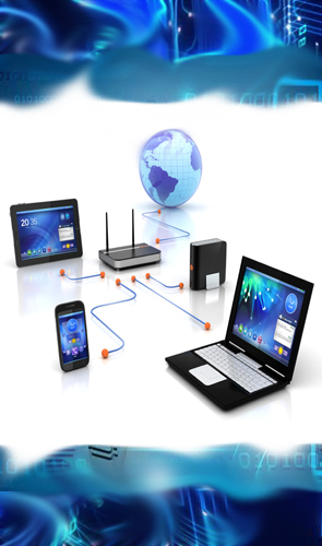 data networking areas in India